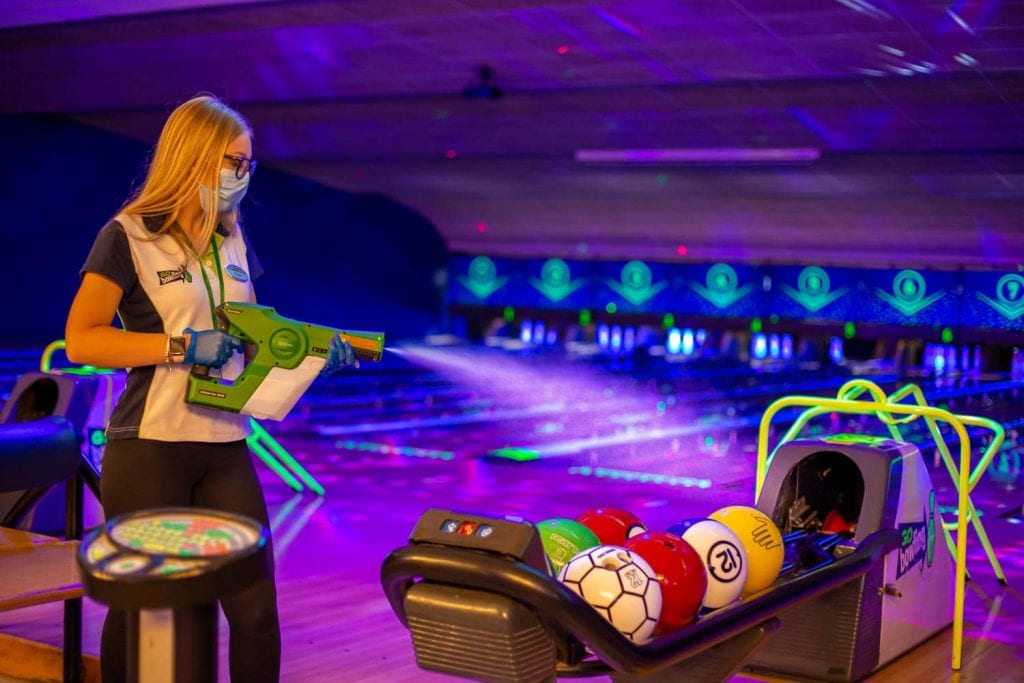 GObowling Electrostatic Cleaning