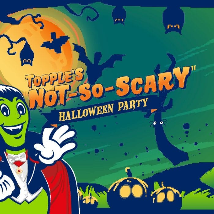 Topple's Not-So-Scarry Halloween