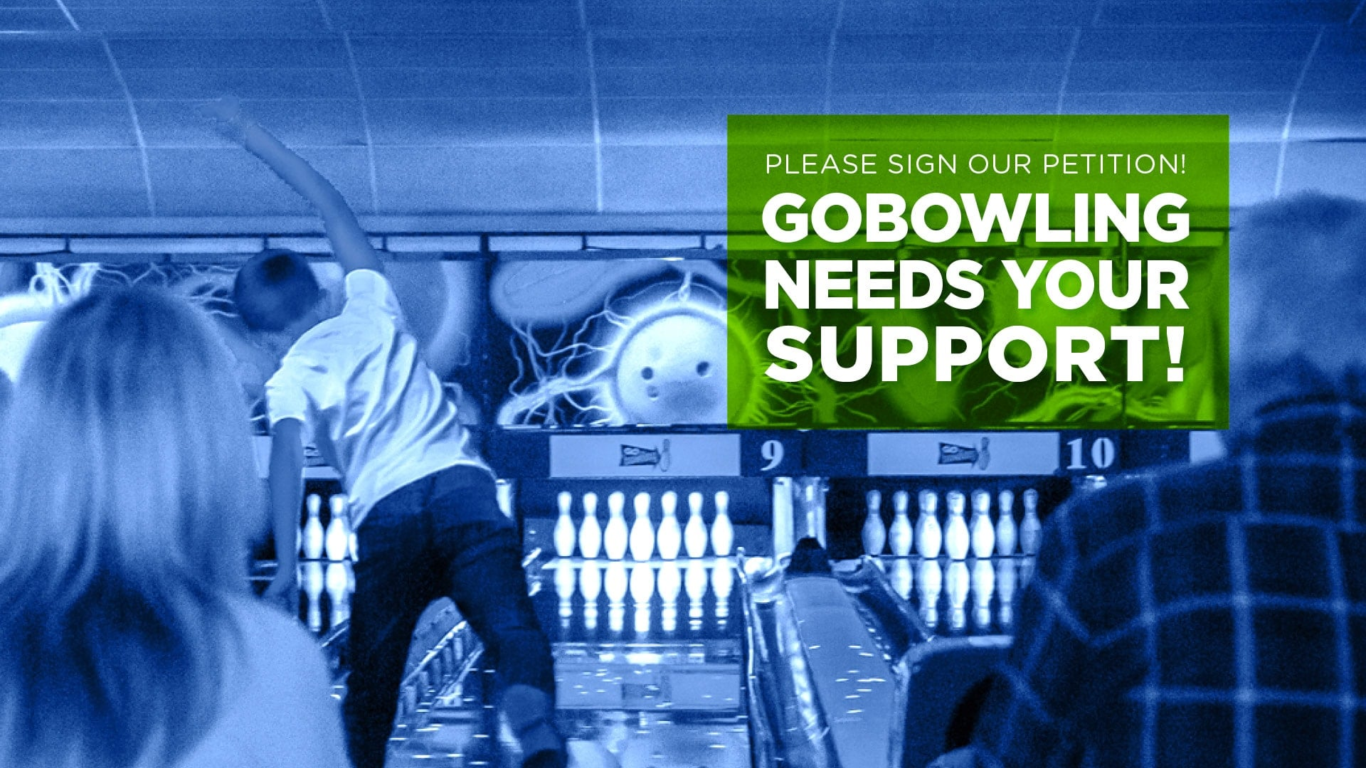 GObowling needs your support!