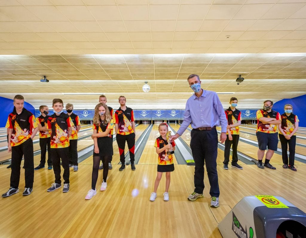 Andrew Selous Visits GObowling
