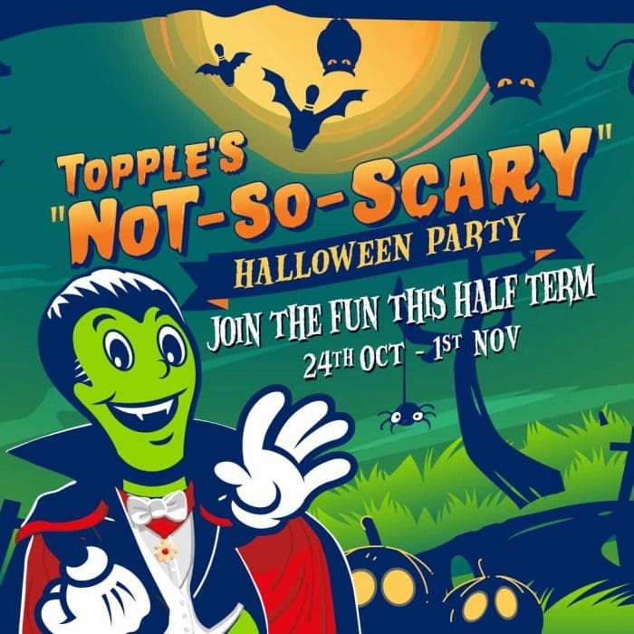 Topple's Not-So-Scary Halloween